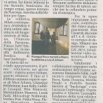 Article Milan Arte in Rete