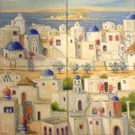 Mosaïque grecque 2 (vendu)