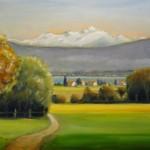 Mont-Blanc depuis Gingins