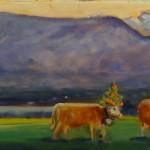 Le repos des 4 vaches