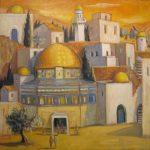 Mosaïque jerusalemme (vendu)