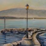 Salève et port de Coppet